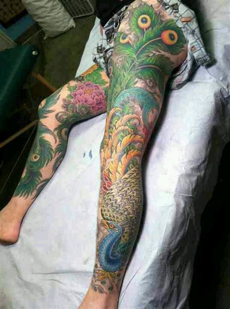 tattoo feather on leg peacock tattoo feather art leg ink cool fun pics of