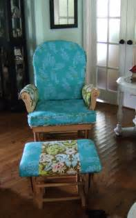Chair glider rocker make your own pad or cushion tips tutorial