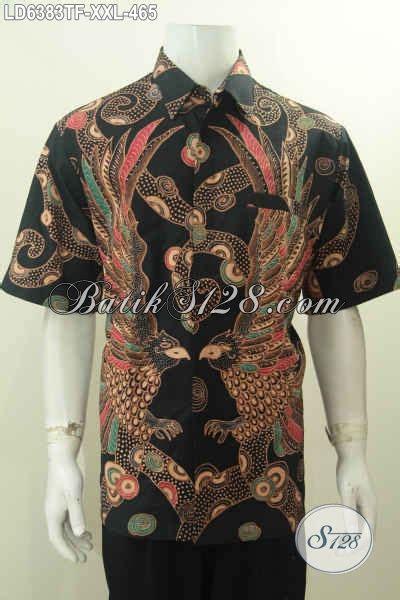 Hem Batik Pria Katun Premium Ukuran Jumbo Hrb 055 jual kemeja batik premium ukuran jumbo hem batik mewah