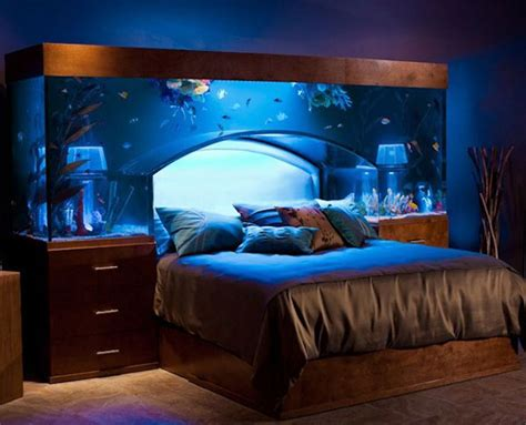 fish tank bedroom furniture headboard ideas 45 cool designs for your bedroom