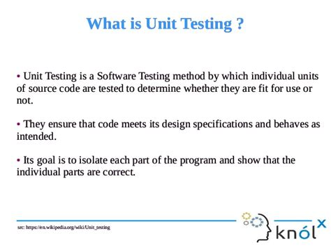 visitor pattern unit test unit testing of spark applications