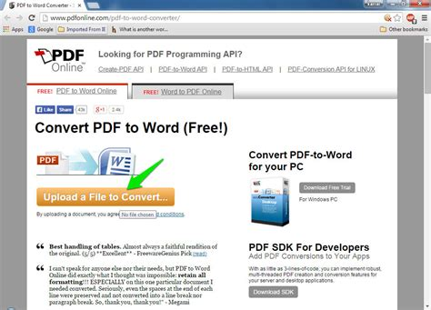 convert pdf to word convert pdf file into word document free software