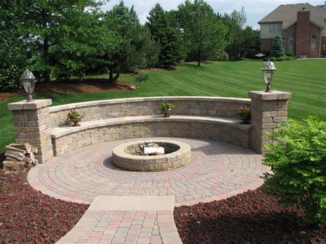 inspiration for backyard pit designs outdoor