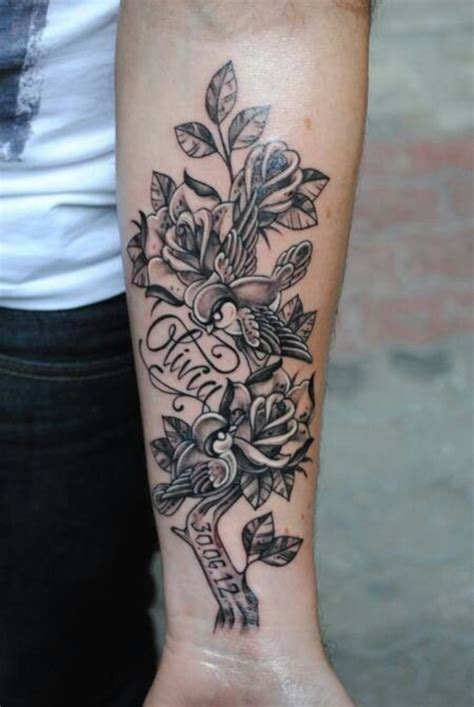 tattoo design around name 40 adorable ideas of tattoos with names