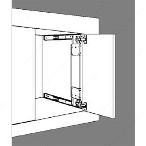 series 1234 flipper door slide richelieu hardware