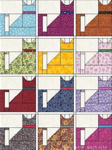 cat quilt ziggy hideous colors but pattern