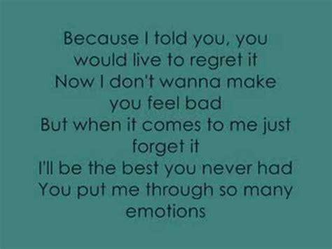 best you never had leona lewis leona lewis the best you never had lyrics