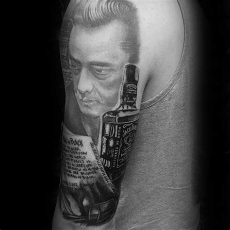 tattoo design johnny 50 johnny cash tattoo designs for men musician ink ideas