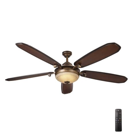 led ceiling fan with remote home decorators collection amaretto 70 in led indoor