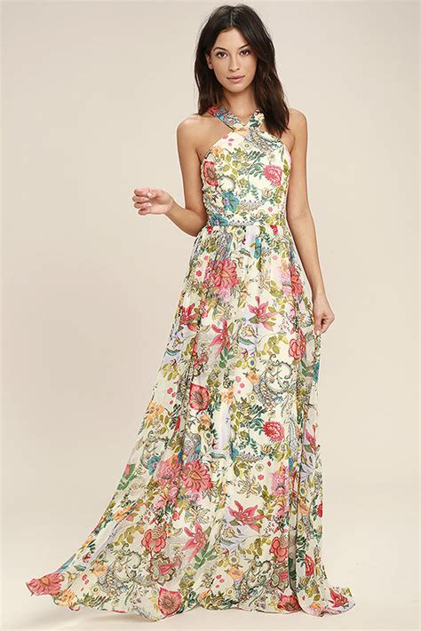 lovely printing dress 0031 lovely dress floral print dress maxi dress 84 00