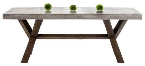 Pendants For Kitchen Island modrest urban concrete rectangular dining table