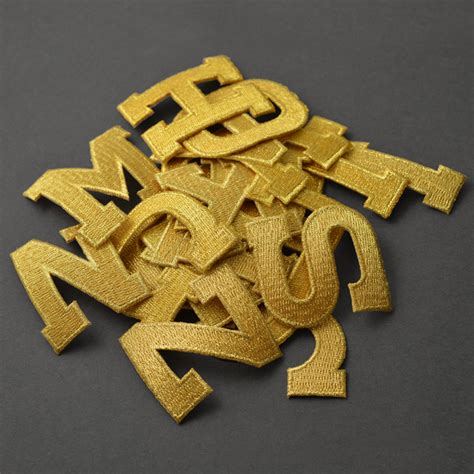 Applique Letters Iron On