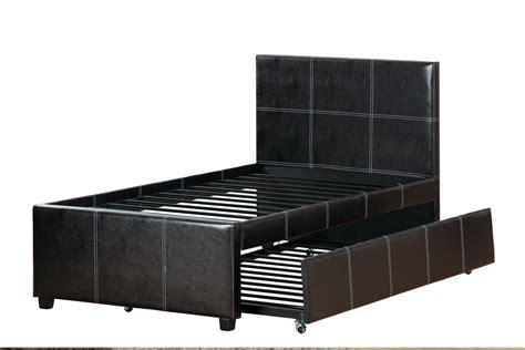 what size is a full size bed poundex f9214f full size bed with trundle in los angeles ca