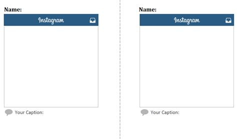 instagram layout pdf social media exit tickets innovating instruction medium