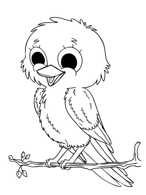 baby animal coloring pages bird coloring pages animal