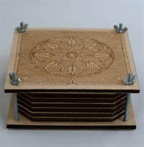 rhiannon flower press by stumped studio