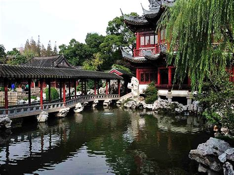 yuyuan garden best attraction in shanghai china gets ready