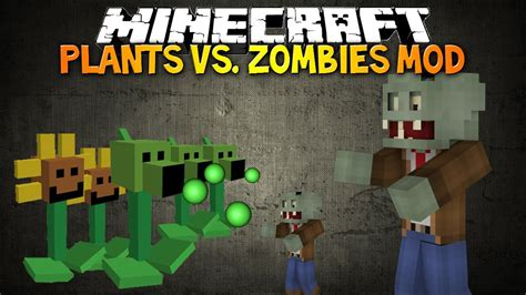 mod game plant vs zombie minecraft plants vs zombies mod plant your own zombie