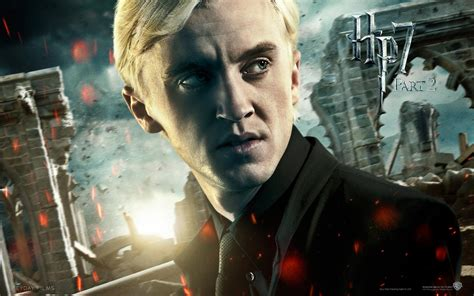 harry potter draco malfoy hp7 p2 the guys of harry potter wallpaper