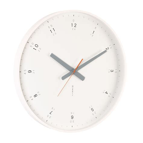 wall clock modern buy modern white wall clock online purely wall clocks