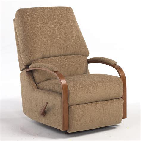 pike swivel rocking reclining chair   home furnishings wolf  gardiner wolf furniture