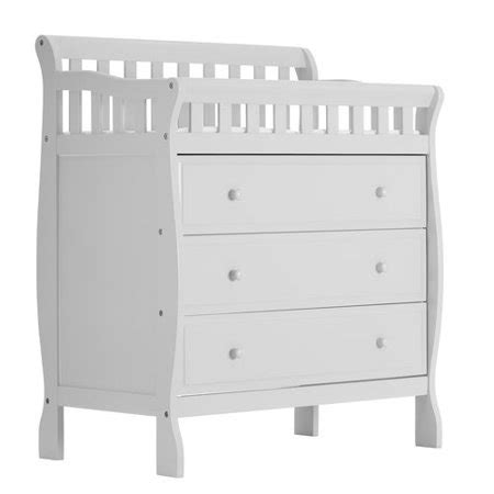 on me changing table white on me changing table and dresser white
