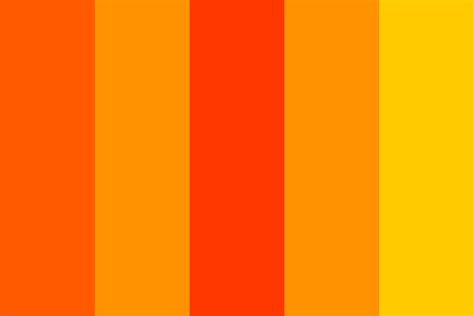 orange awesome palette color palette