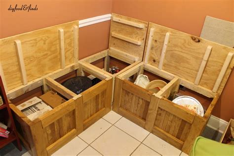 diy kitchen bench with storage 1000 ideas about kitchen bench seating on pinterest