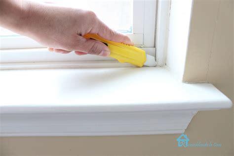Caulking Window Sills How To Install Window Trim Pretty Handy