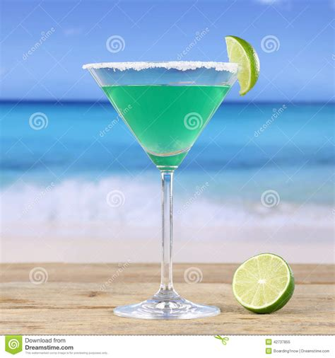 martini beach martini drink royalty free stock photography