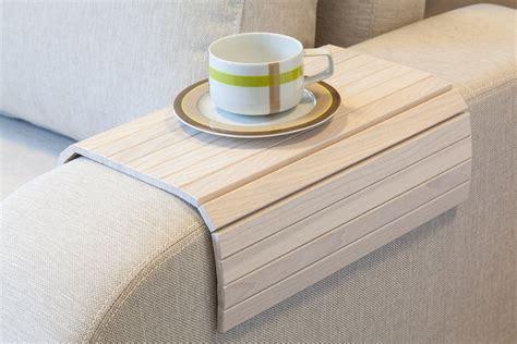 Sectional Trays by Sofa Armrest Tray Bonjourlife