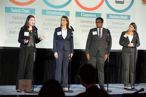 Post Mba Competition by Maryland Students Win Inaugural Mba Competition U S