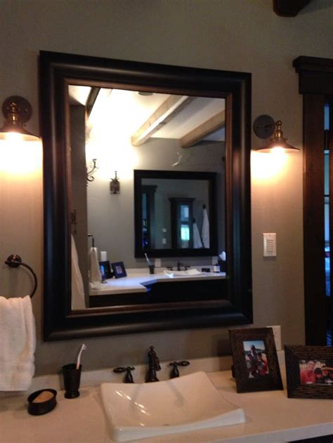 frame an existing bathroom mirror 17 best images about frames for existing mirrors on