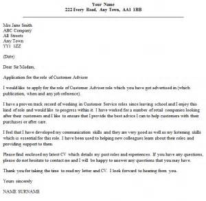 Cultural Adviser Cover Letter by Cultural Adviser Cover Letter