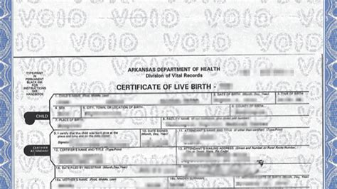State Birth Records Ark Judge Blocks State From Issuing Birth Certificates