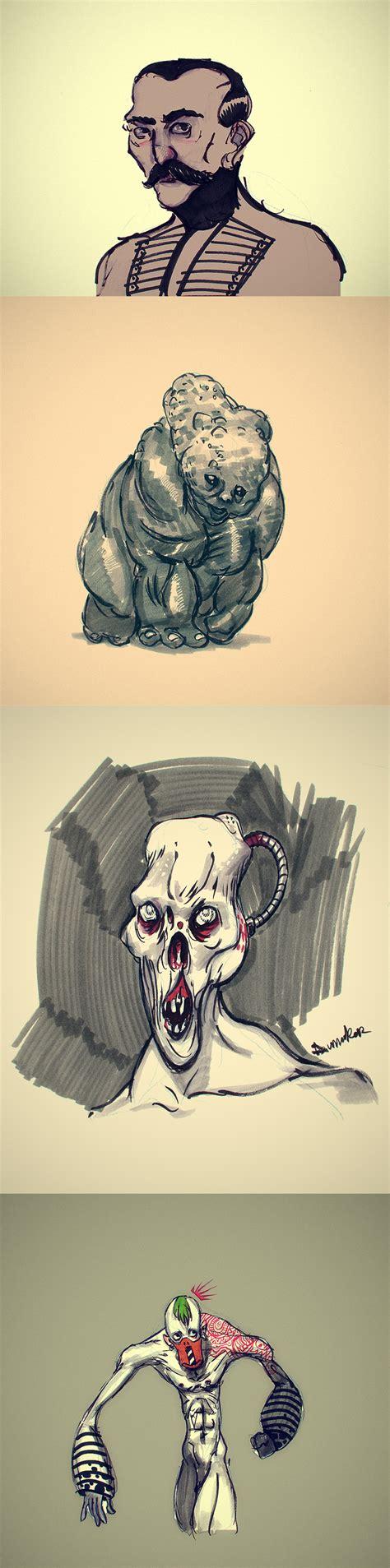 Handmade Sketches - handmade sketches 002 by dumaker on deviantart