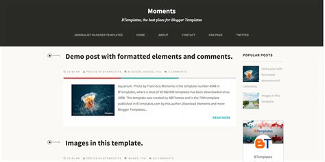 templates for blog website templates robot tip