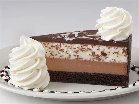 chocolate tuxedo cream cheesecake  cheesecake factory