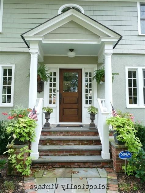 Front Door Porticos Building A Front Portico Southern Hospitality Front Porch Ideas Southern
