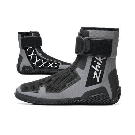 sailing boots zhik 360 zhikgrip 2 high cut race sailing boots dinghy