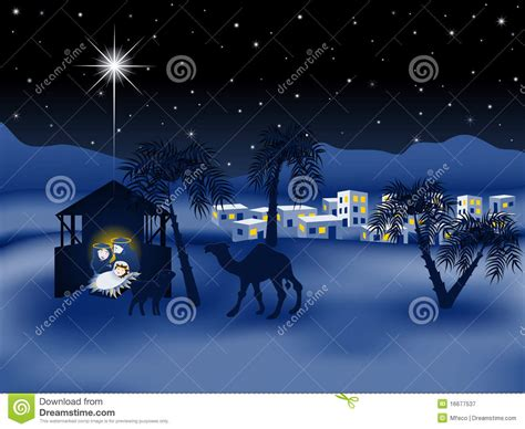 religious themes in stories jesus nativity story eps8 royalty free stock photography