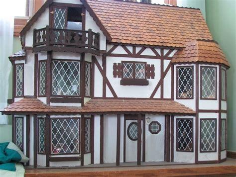 tudor doll house making tudor windows dollhouse decorating