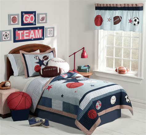 Kids Sports Bedroom | 7 ideas sport themed bedrooms home decor report