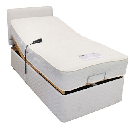 serena electric adjustable bed with pocket sprung mattress ebay