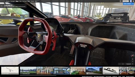 Inside The Lamborghini Museo Lamborghini Inside Car Photo On Automoblog Net
