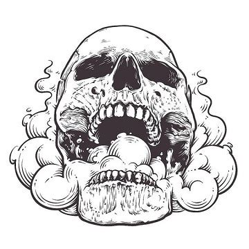 imagenes de calaveras gangster imprime estos dibujos de calaveras de halloween y decora