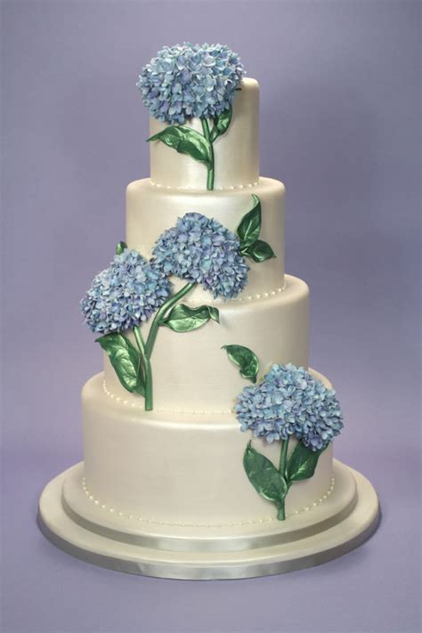 hydrangea cake elisa strauss satin ice