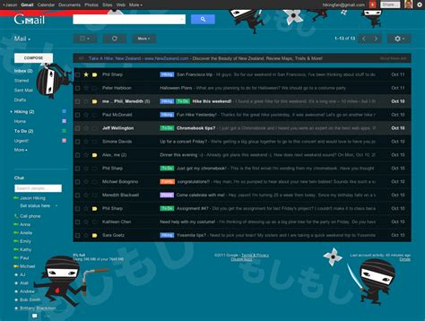 themes for gmail email check out some of the new gmail hd themes and find out how