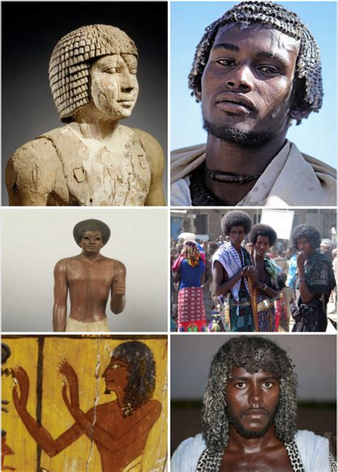information on egyptain hairstlyes for and is there any remnants of ancient egyptian culture still