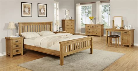 Wood Bed Sets Oak Wood Bedroom Furniture Eo Furniture